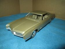 1966  Buick Riviera  buckets console rally Dealer Promo 1/25 tan loose