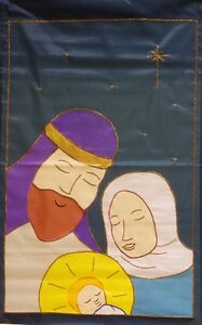 Holy Family Nativity Standard House Flag by NCE #90335