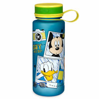 Disney Store Mickey Mouse Donald Duck and Friends Water Bottle 20oz New