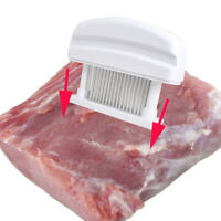 USA Handheld Meat Tenderizer 48Blade Stainless Steel Needle Prongs Kitchen Home