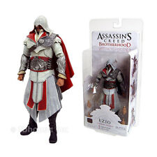 "7"" HOODED EZIO white IVORY LEGENDARY figure ASSASSIN'S CREED 2 brotherhood NECA"