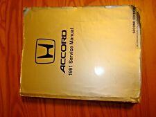 1991 HONDA ACCORD SERVICE MANUAL