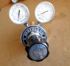 Matheson Pressure Regulator Gas Valve 3000 PSI 8-320 SHIPS TODAY!