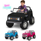 Classic Ford Bronco Kids Ride-on Toy 2.5 MPH Speed Battery Powered 6 Volt Black
