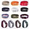 18-22mm Infantry Military Army Replace Nylon Fabric Watch band Strap Bracelet