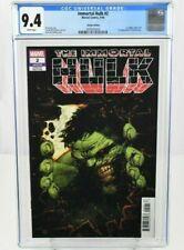 Immortal Hulk #2 (2018) CGC Graded 9.4 Variant Ed. 1st App. Doctor Frye Marvel