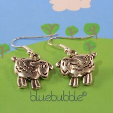 Animals & Insects Tibetan Silver Costume Earrings