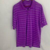 New Nike Golf Mens XL Dri Fit Short Sleeve Collared Golf Polo Shirt