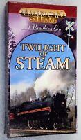 AMERICAN STEAM A VANISHING ERA TWILIGHT OF STEAM VHS Trains Railroad Video Tape