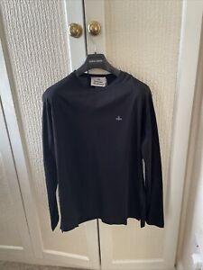 Men's Vivienne Westwood Long Sleeve T-Shirt Size Large New