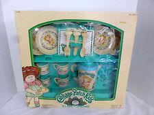 Vintage Cabbage Patch Kids Tea Party Cupboard Play Set NIB 1984 No. 618 O A A