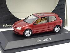 Schuco 1/43 - VW Golf 5 V Rojo