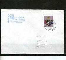 Ungeprüfte Briefmarken aus Berlin (1980-1990) mit Bedarfsbrief