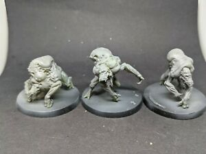 Set of 3 Chaos Mutant spawn 3D printed