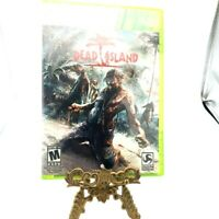 Dead Island Microsoft Xbox 360 Complete Game Case Manual Deep Silver Very Good