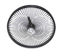 "BICYCLE 20"" x 1.75 STEEL BLACK WHEEL 144 SPOKES COASTER CRUISER LOWRIDER 288670"