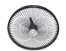 "BICYCLE 20"" x 1.75 STEEL BLACK WHEEL 144 SPOKES COASTER CRUISER LOWRIDER 288670"
