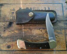 Vintage buck 110 folding knife W/Sheath