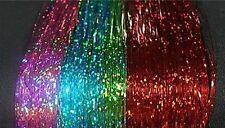 "240 Strand, 6 Colors, 40"" Sparkle Hair Tinsel,Shimmer, Beauty,Styling Dance Wear"