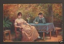 """""""SCHMERZLICHER AUGENBLICK"""" par J. MATHAUSER en 1919"""