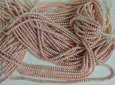 B5017 ONE STRAND NATURAL BUTTON FRESHWATER PEARL LOOSE JEWELRY CRAFT BEAD