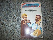 GEORGES SIMENON MAIGRET E LA MOGLIE MONDADORI 5°inchieste collana 1/10 1980+BUON