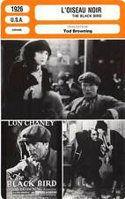 FICHE CINEMA : L'OISEAU NOIR - Chaney,Moore,Browning 1926 The Blackbird
