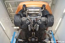 Invidia GEMINI ACERO inox. TITANIO escape deportivo Sistema de NISSAN 350z Z33