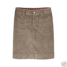 ATHLETA Washed Velvet Skirt, NWD, Size 8, Khakina,  Retail $69