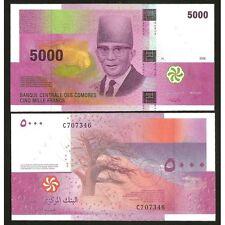 COMOROS  5000 Francs 2006 UNC P 18