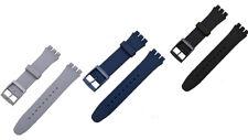 Silikon Ersatzband  Kompatibel SWATCH 17mm 19mm 20mm silicone