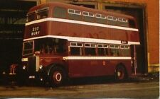 Bolton Corporation 1956 Leyland Titan Bus JBN 153 unused 1970s postcard