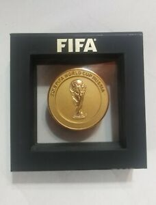 Fifa world cup russia 2018 medal official participant collection soccer