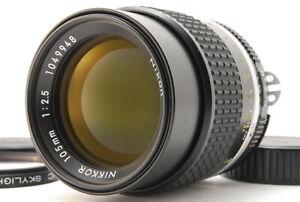 (Near Mint) NIKON Ai-s NIKKOR 105mm f/2.5 Prime MF SLR Lens  AIS From JAPAN A452
