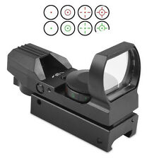 For Gun Airsoft Pistol  Red/Green Dot Holographic 1x22x33 Optical Sight Scope