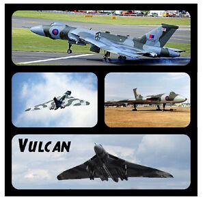 VULCAN - FUN NOVELTY SOUVENIR COASTERS - EASY CLEAN - GIFT IDEAS / XMAS / NEW