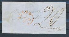 KOMPLEET BRIEFJE MET DISTRIBUTIEST. BEILEN OP AZ. VIA ASSEN 26.7.1848 -  ZL876