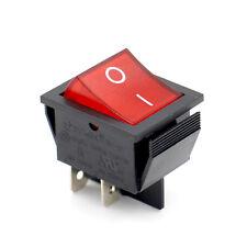 SOKEN Wippenschalter 4-polig rote beleuchtete Wippe 250V/16A EIN / AUS UR
