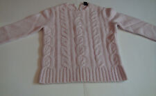 GAP Pink Knitted Long Sleeve Sweater Size M