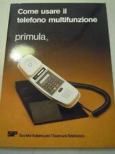 MANUALE D'ISTRUZIONI - TELEFONO MULTIFUNZIONE - PRIMULA SIP - VINTAGE  C10-908