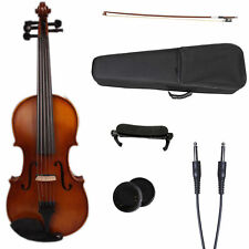 17'' 5 string electric Acoustic Viola maple wood Spruce wood Powerful Sound