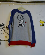 Sizes 7 8 9 10 Boys Girls Peanuts Hanna Andersson Charlie Snoopy Sweatshirt