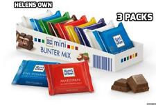 RITTER SPORT MINI - Triple Pack - 27 Assorted Chocolate Mini Bars MIXED Flavours