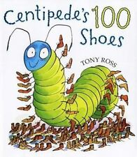 Centipede's One Hundred Shoes by Tony Ross (2003, Hardcover) NEW
