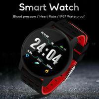 Smartwatch Smart Armband Fitness Tracker Pulsuhr IP67 Blutdruck für Android IOS
