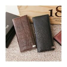OMNIA 1168A Mens High Genuine Leather Land Cowhide Long Wallet
