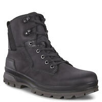 Ecco Men's Rugged Track Outdoor Boot - Black/Black