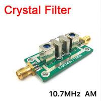 Crystal Filter AM 10.7MHz ±7KHz Bandpass Filter Narrowband F Oscilloscope
