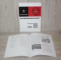 IHC 323 353 383 423 453 Technische Daten Ackerschlepper Mc Cormick 10//1972