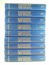 ?  9 x Illustrierte Geschichte der Medizin - Bücherpaket Sammlung Kunstleder